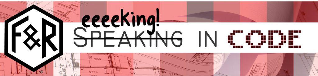 Eeeeking in Code Banner